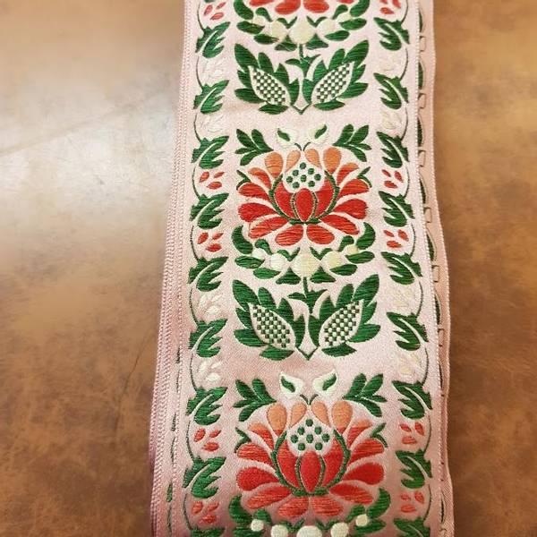 Bilde av Silkebånd folkedrakt rosa