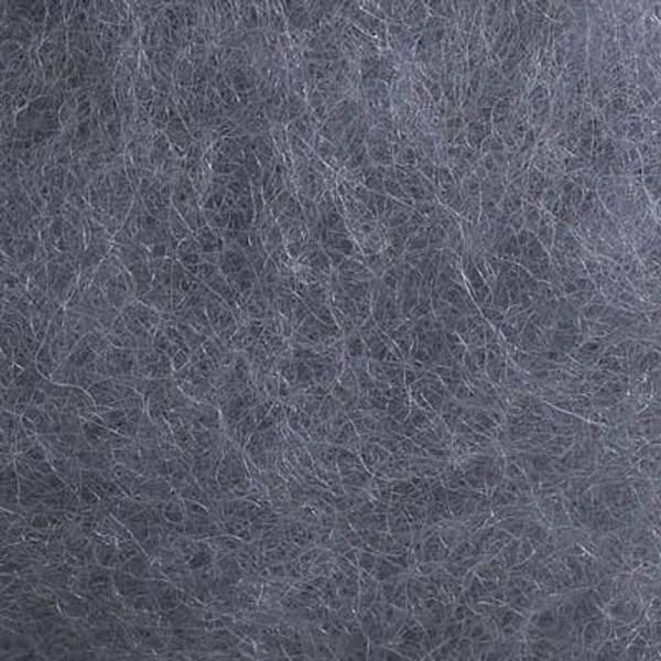 Bilde av Kardet ull, stålgrå 100g