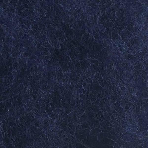 Bilde av Kardet ull, marineblå 100g