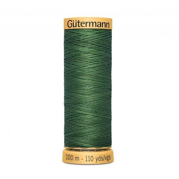 Bilde av Gütermann bomullstråd 100 m F 9034 mørk grønn